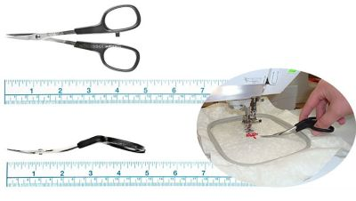 5 inch Double Curve KAI Embroidery Scissors