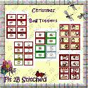 Christmas Bag Toppers (printable) - F2BS