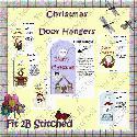 Christmas Door Hangers (printable)  F2BS