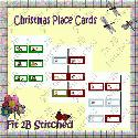 Christmas Place Cards (printable) - F2BS