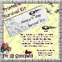 Father's Day Survival Kit (printable&#x2