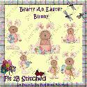 Bearly a Easter Bunch (clipart) - F2BS