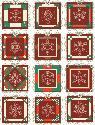 CLIPART! Christmas Snowflake Blocks @ Diddybag!