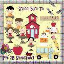 Back to School 1 (clipart) - F2BS