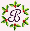 Holly Alphabet Monogram Set @ CCEDesigns