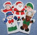 Christmas Hand Puppets & Finger Puppets @ Marge's