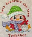 Stitched Impressions - Holiday Baby Birds