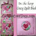 Crazy Quilt ITH @ Cookies Creations