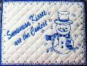 Snowman Mug Rugs @ C-Some-Stitches
