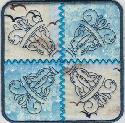 F2BS - Crazy Quilt Nautical Coaster 01-5x5