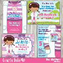 Mygrafico - Doc Girl Party Clip Art