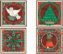 CLIPART! Christmas Quilt Graphics Set @ Diddybag!
