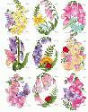 CLIPART! Fancy Foxglove Fleurs @ Diddybag!