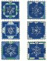 CLIPART! Snowflake Quilt Blocks @ Diddybag!