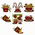 CLIPART! Christmas Mouse 3 @ Diddybag!