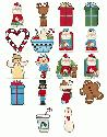 CLIPART! Christmas Whimsy @ Diddybag!