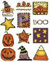 CLIPART! Rustic Halloween Combo @ Diddybag!