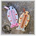 Stitch Soup - ITH Fish Pencil Cases