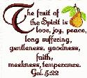 Oma's Place - NEW - Fruit of the Spirit