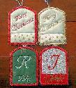 Kreative Kiwi - ITH Christmas Tags