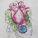 Floral Dreams from Needle Little Embroidery
