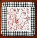 Kreative Kiwi - ITH Rooster Coasters