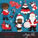 MyGrafico Merry Christmas African American Boys