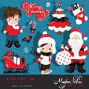 MyGrafico Merry Christmas Clipart Boys 2