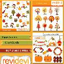 MyGrafico Happy Autumn Bundle Clipart
