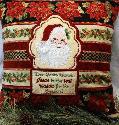 Oma's Place - NEW Santa Pillow