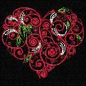 Thread Treasures: Swirl Heart