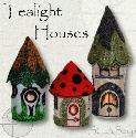 Stitch Soup - NEW Tealight Houses
