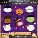 MyGrafico Halloween Faces Clipart