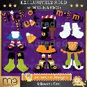 MyGrafico Halloween Feet Clipart