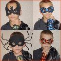 Boys Halloween Masks and Cuffs - DigiDoodlez