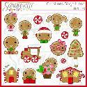 Sanqunetti Design: Gingerbread Clipart