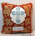 Oma's Place - Cross Pillow - NEW