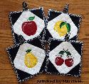 Oma's Place - NEW ITH Fruit Potholders