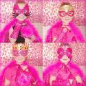 Girls Halloween Masks and Cuffs - DigiDoodlez