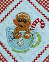 Omas Place - NEW Ginger Cup Applique