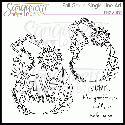 Sanqunetti Design: Give Thanks Fall Gourd Line Art