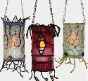 Stitch Soup - Hanging Organza Lanterns