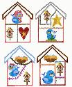 theappliquehut-New Happy Heart House Blocks