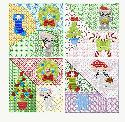 theappliquehut-Lazy Crazy Christmas Mice Blocks
