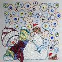 Stitch Impressions - Snowman Swirls