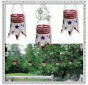 Stars & Stripes Lanterns - Stitch Soup