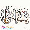 Believe Machine Embroidery Design